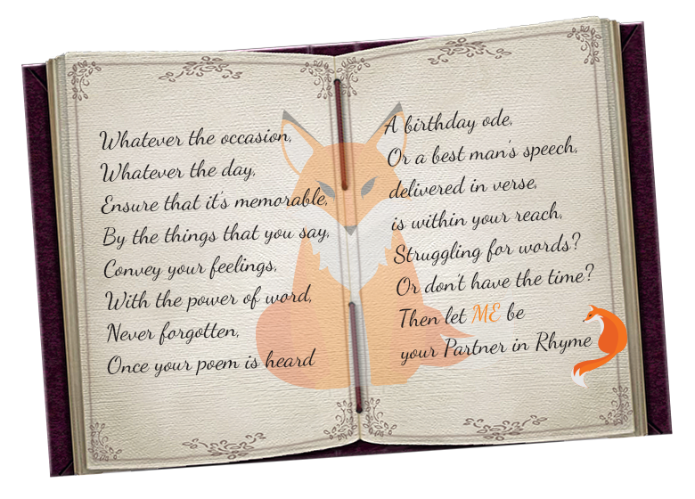 personalised poems